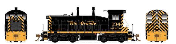 Rapido Ho Scale SW1200 Denver & Rio Grande Western DCC & Sound *Pre-order*