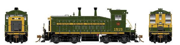 Rapido Ho Scale SW1200 Grand Trunk Western (Green & Gold) DCC Ready *Pre-order*