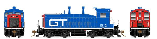 Rapido Ho Scale SW1200 Grand Trunk Western (Blue & Red) DCC & Sound *Pre-order*