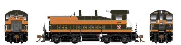Rapido Ho Scale SW1200 Great Northern DCC & Sound *Pre-order*