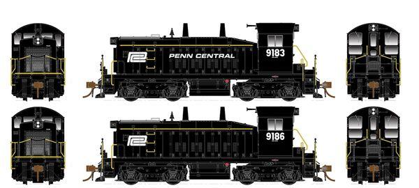 Rapido Ho Scale SW1200 Penn Central DCC & Sound *Pre-order*