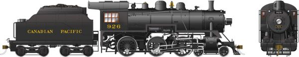 Rapido Ho Scale Canadian Pacific D10g 4-6-0 #926 DCC Ready *Reservation*