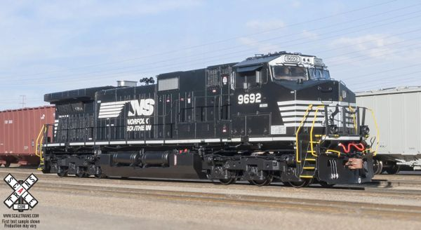 Scaletrains HO Scale GE C44-9W Norfolk Southern DCC Ready