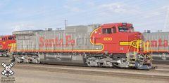 Scaletrains HO Scale GE C44-9W Santa Fe DCC & Sound