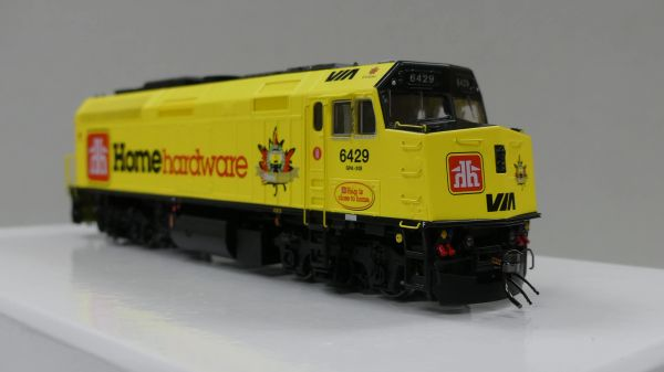 "Rapido Ho Scale VIA Rail F40PH-2D #6429 ""Home Hardware"" DCC Ready"