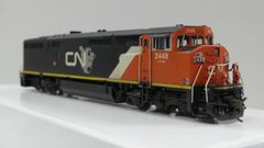 Overland Models Ho Scale GE Dash 8-40CM Canadian National #2448