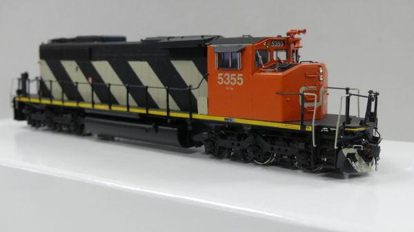 Overland Models Ho Scale GMD SD40-2W #5355