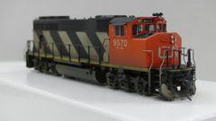Overland Models Ho Scale GMD GP40-2L CN #9570