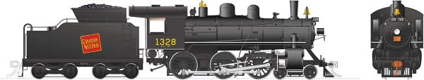 Rapido Ho Scale H-6-d Canadian National #1328 (4-6-0) DCC Ready *Reservation*