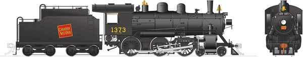 Rapido Ho Scale H-6-g Canadian National #1373 (4-6-0) DCC Ready *Reservation*