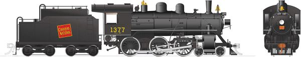 Rapido Ho Scale H-6-g Canadian National #1377 (4-6-0) DCC Ready *Reservation*