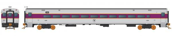 Rapido Ho Scale MBTA Comet Car Sets *Reservation*