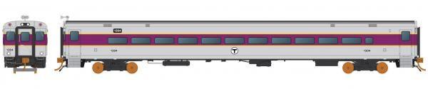 Rapido Ho Scale MBTA Comet Car Un-numbered *Reservation*