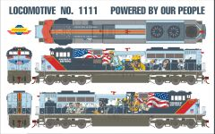 "Athearn Genesis Ho Scale Union Pacific SD70ACe ""Powered By Our People"" Paint Scheme DCC & Sound *Reservation*"