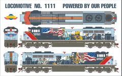 "Athearn Genesis Ho Scale Union Pacific SD70ACe ""Powered By Our People"" Paint Scheme DCC Ready *Reservation*"