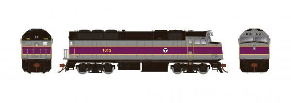 Rapido Ho Scale MBTA F40PH Phase III DCC Ready *Reservation*