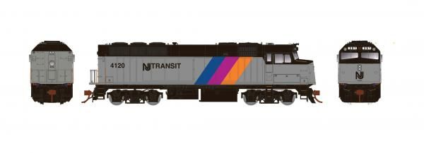 Rapido Ho Scale New Jersey Transit F40PH Phase III DCC & Sound *Reservation*