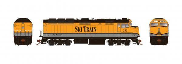 Rapido Ho Scale Rio Grande Ski Train F40PH Phase II W/Ditchlights DCC Ready *Reservation*