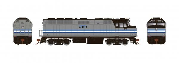 Rapido Ho Scale Montreal AMT F40PH Phase II W/Ditchlights DCC & Sound *Reservation*
