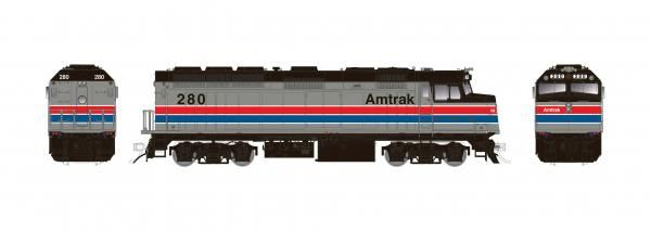 Rapido Ho Scale Amtrak F40PH Phase II DCC & Sound *Reservation*