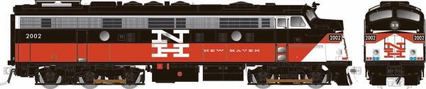 Rapido Ho Scale ConnDot (New Haven) Modernized FL9 W/Ditchlights DCC & Sound *Reservation*