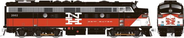 Rapido Ho Scale ConnDot (New Haven) Modernized FL9 W/Ditchlights DCC Ready