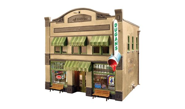 Woodland Scenics HO Scale Built & Ready Dugan's Paint Store