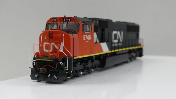 Athearn Genesis Ho Scale Canadian National (CN.CA) SD75I W/ Ditchlights DCC Ready