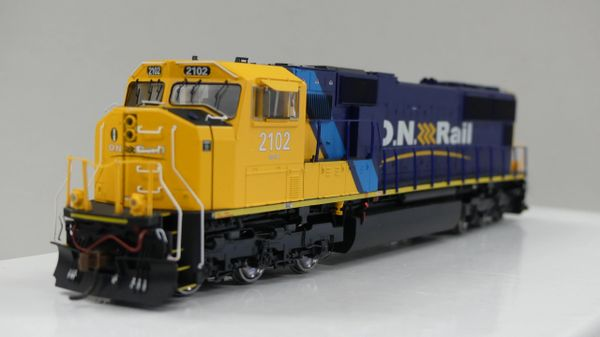 Athearn Genesis Ho Scale Ontario Northland SD75I W/ Ditchlights DCC Ready