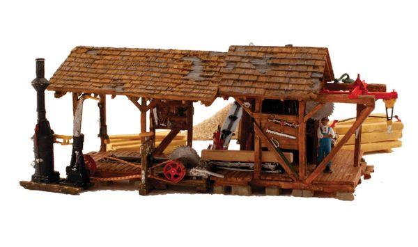 Woodland Scenics Built & Ready Buzz's Sawmill