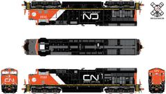 Scaletrains Rivet Counter Ho Scale ET44AC Canadian National (Aboriginal Affairs Logo) DCC & Sound *Pre-order*