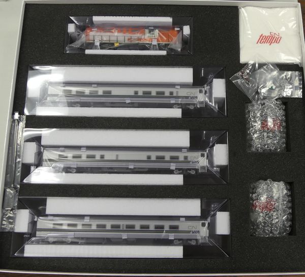 Rapido Ho Scale VIA Tempo – Complete Sets DCC Ready