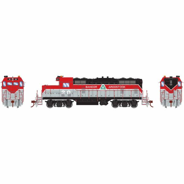 Athearn Genesis Ho Scale Bangor & Arrostock GP7 DCC & Sound *Reservation*