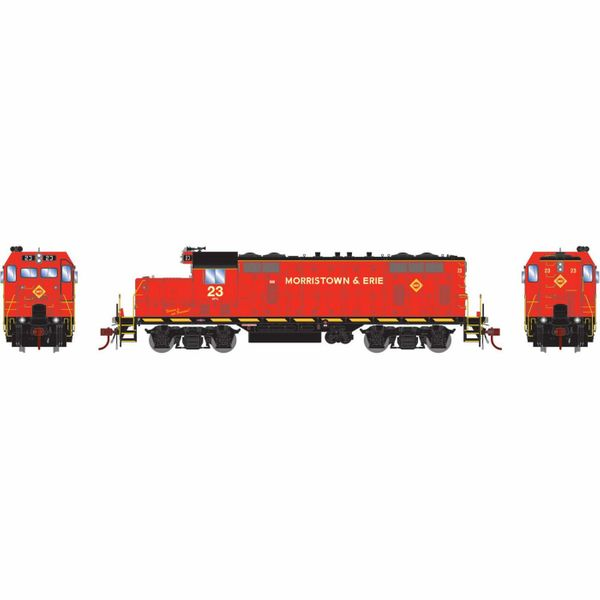 Athearn Genesis Ho Scale Morristown & Erie GP7 DCC & Sound *Reservation*