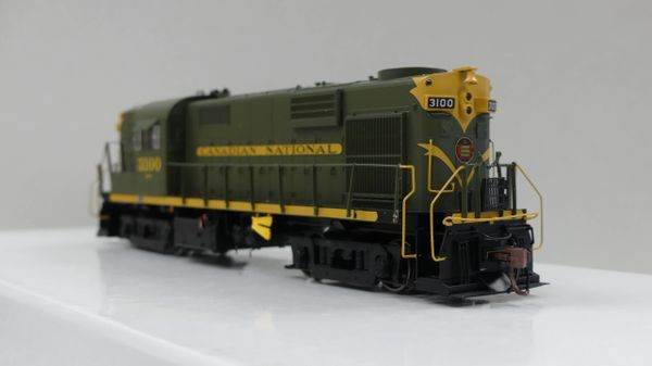 Rapido Ho Scale RS18 Canadian National (Green) DCC & Sound