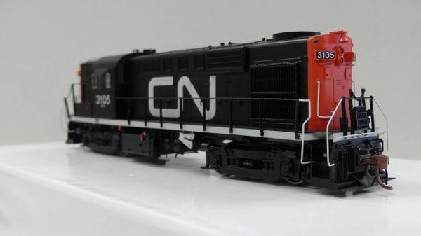 Rapido Ho Scale RS18 Canadian National (Noodle) DCC & Sound