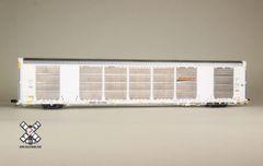 Scaletrains Rivet Counter Ho Scale Gunderson Multi-Max Autorack BNSF/White *Pre-order*