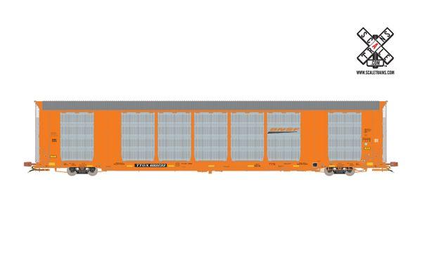 Scaletrains Rivet Counter Ho Scale Gunderson Multi-Max Autorack BNSF/Orange/TTGX