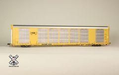 Scaletrains Rivet Counter Ho Scale Gunderson Multi-Max Autorack CSX/Boxcar Logo/CTTX *Pre-order*