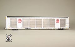 Scaletrains Rivet Counter Ho Scale Gunderson Multi-Max Autorack Kansas City Southern/White/CTTX *Pre-order