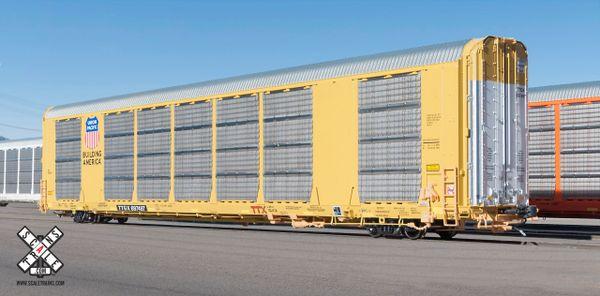 Scaletrains Rivet Counter Ho Scale Gunderson Multi-Max Autorack Union Pacific/Building America/TTGX *Pre-order