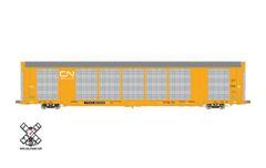 Scaletrains Operator Ho Scale Gunderson Multi-Max Autorack Canadian National (CN)/White Logo/TTGX *Pre-order