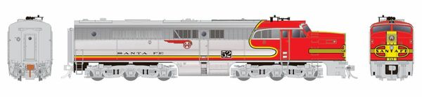 Rapido Ho Scale Santa Fe ALCO PA-1 DCC & Sound *Reservation*
