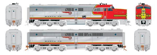 Rapido Ho Scale Santa Fe ALCO PA-1 Set DCC & Sound *Reservation*
