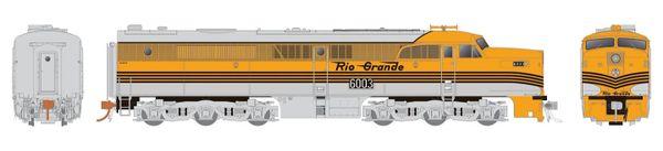 Rapido Ho Scale Denver & Rio Grande ALCO PA-1 DCC Ready *Reservation*