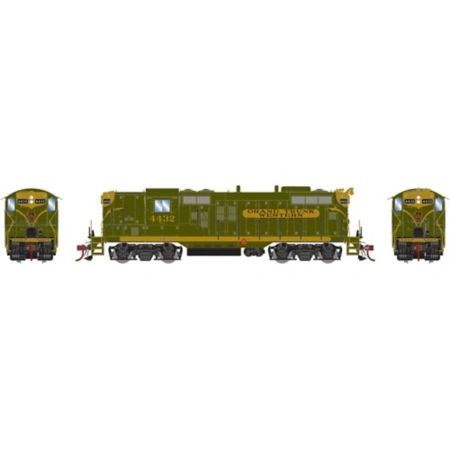 Athearn Genesis Ho Scale GP9 Grand Trunk DCC Ready