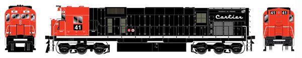 Bowser HO Scale Cartier Mining M636 Black DCC Ready