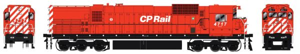 "Bowser HO Scale CP Rail M636 8"" Stripe, Sill Dots, Mod Air Intake, Water Tank DCC Ready"