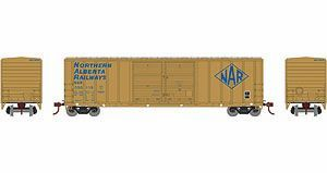 Athearn Ho Scale RTR 50' FMC Double Door Box NAR