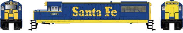 Bowser HO Scale GE U25B Santa Fe DCC Ready